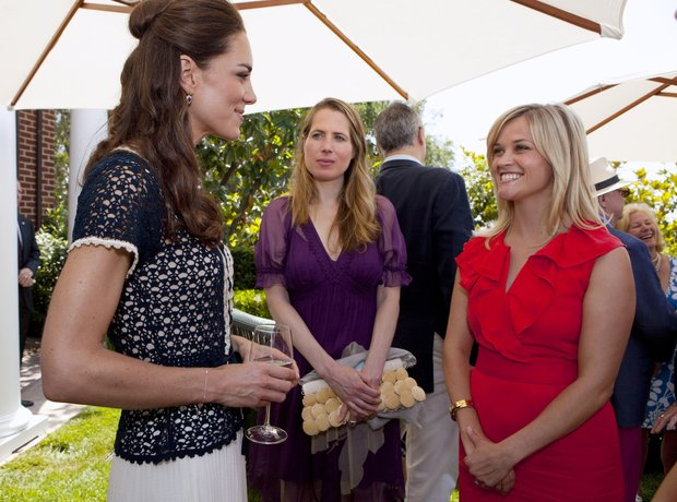 Reese Witherspoon and Kate Middleton