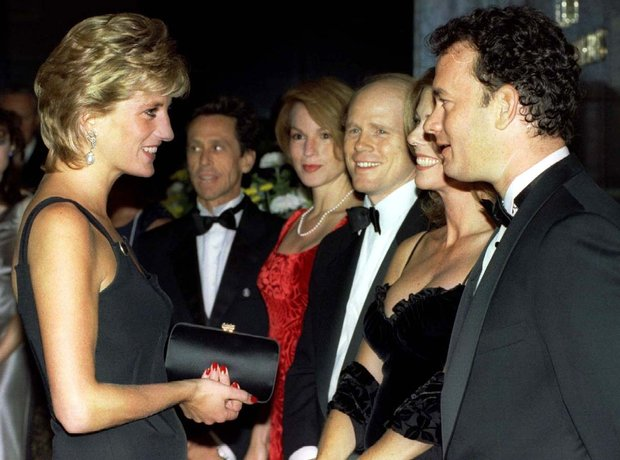 Tom Hanks and Princess Diana