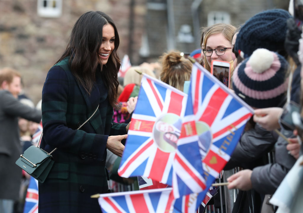 Meghan Markle and fans