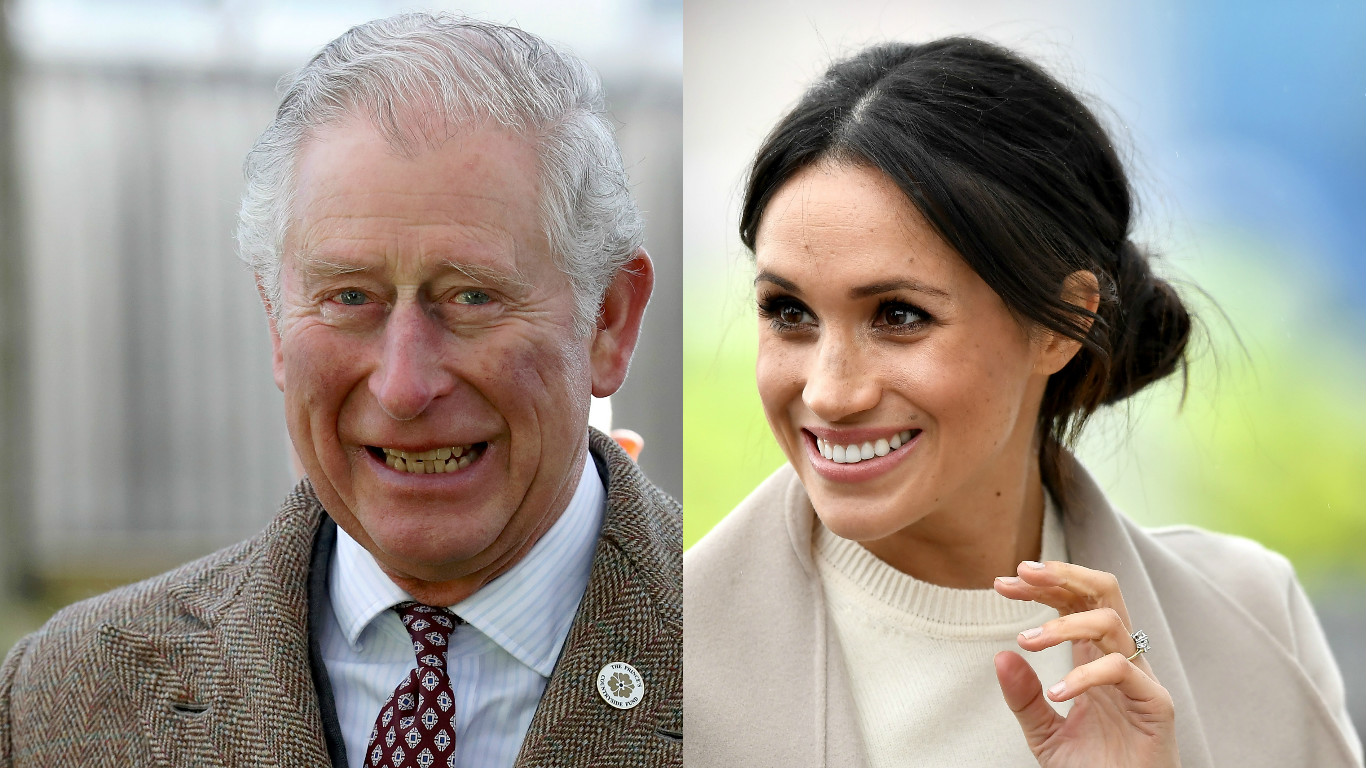 Charles and Meghan