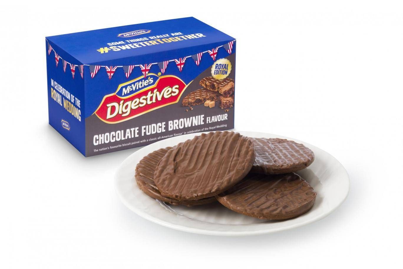 Chocolate digestives Royal edition
