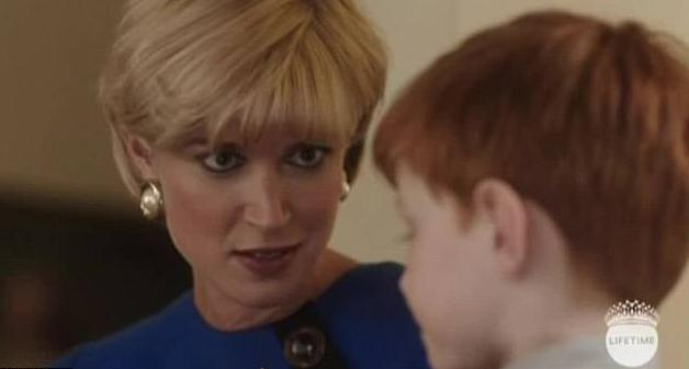 Diana in the Lifetime Harry movie