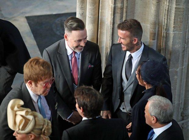 Elton John, David Beckham