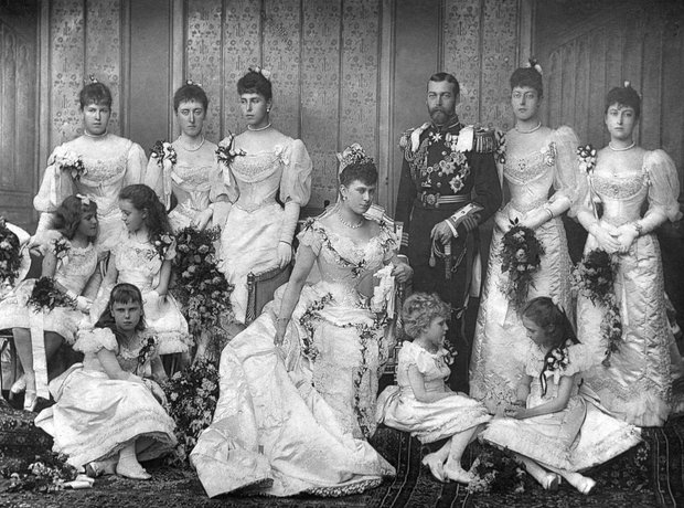 King George V wedding