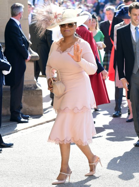 Oprah Winfrey at the Royal Wedding