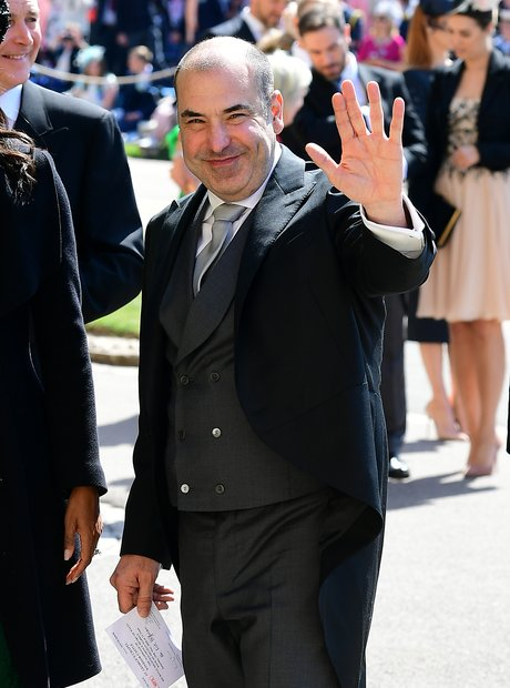 Suits star Rick Hoffman arrives at St George's Cha