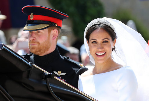 duke and duchess sussex wedding day
