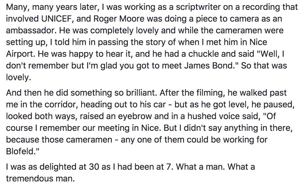 Roger Moore story