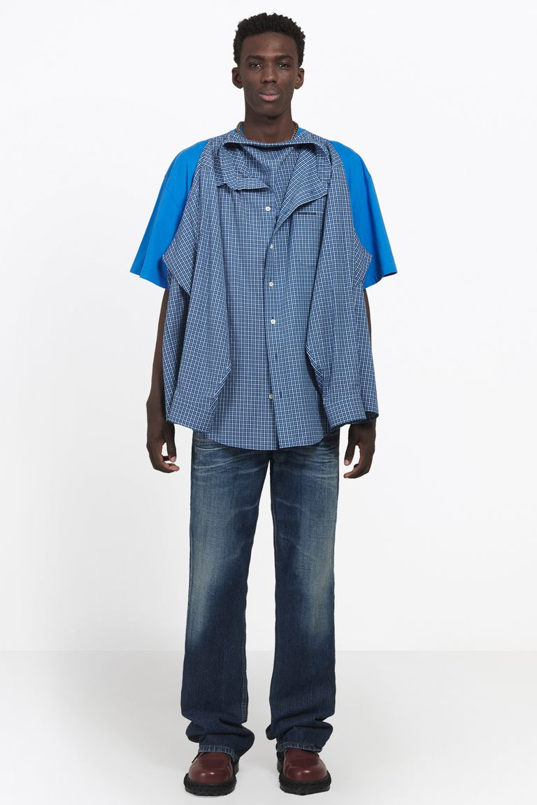 Balenciaga double shirt