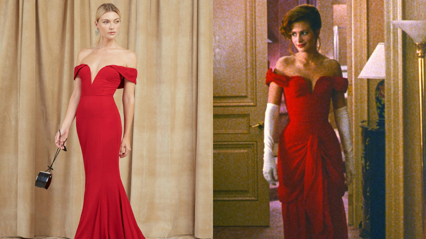 8407423829 You can now own the red pretty woman dress smooth jpg 1366x768 Pretty woman  movie dresses