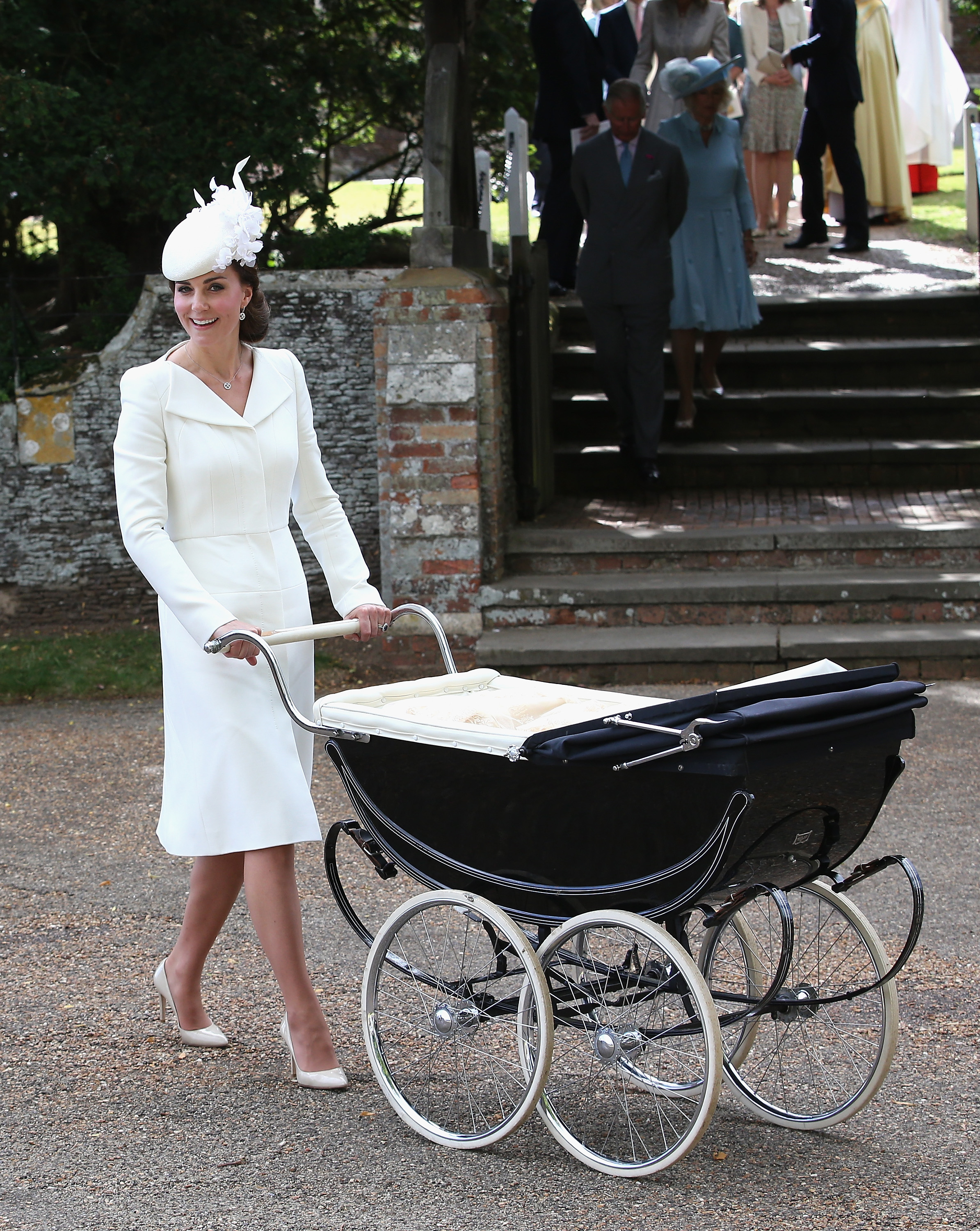 Kate Middleton at Charlotte's christening
