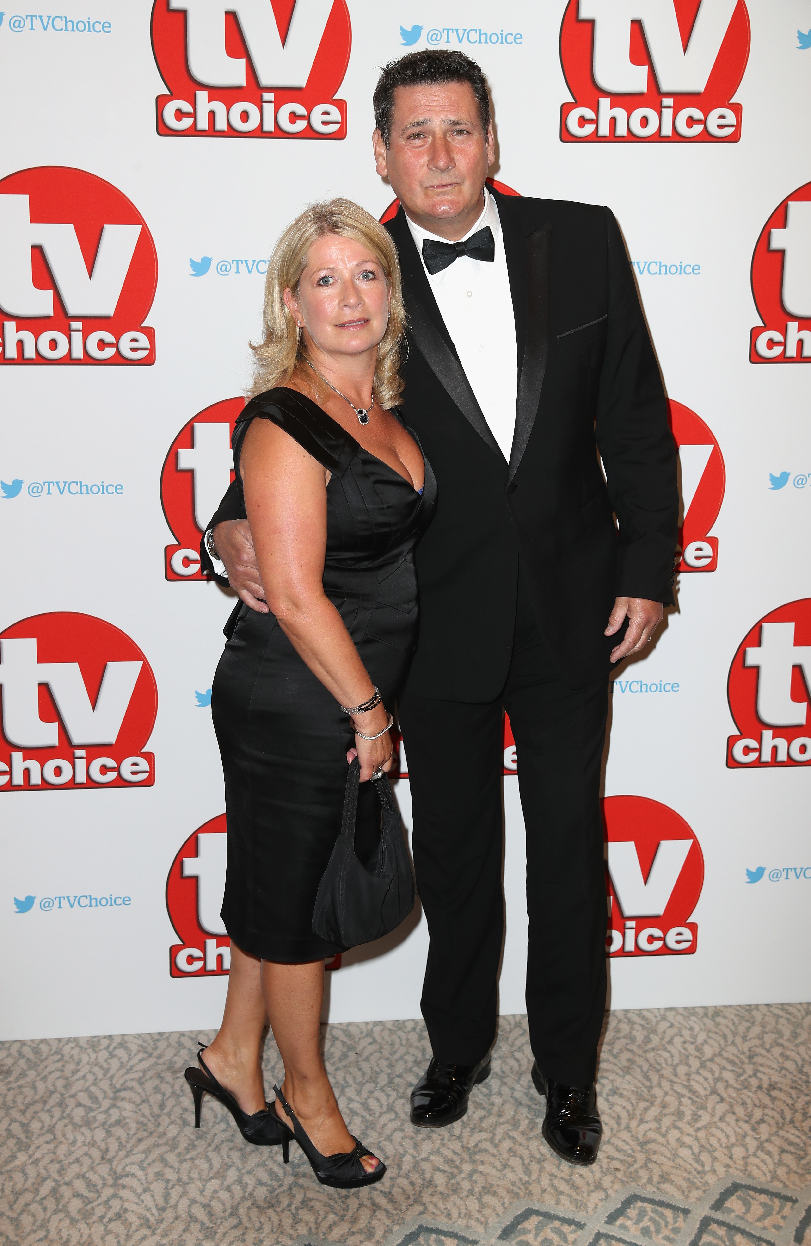 Tony Hadley and wife Alison Evers
