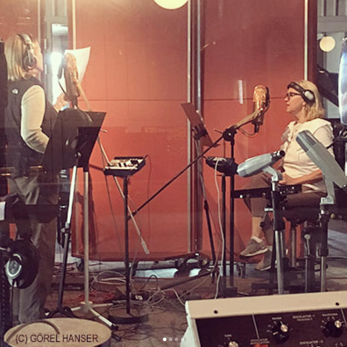 ABBA recording session