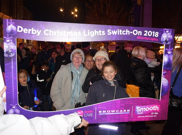 Derby Xmas Lights