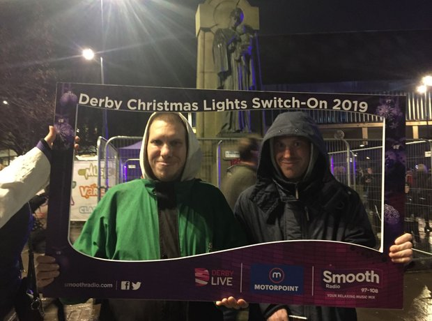 Derby Christmas Lights Switch On 2019
