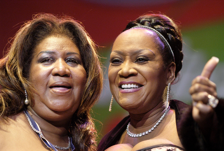 Aretha Franklin and Patti